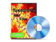 Set Hypnose CDs - Kreativität steigern