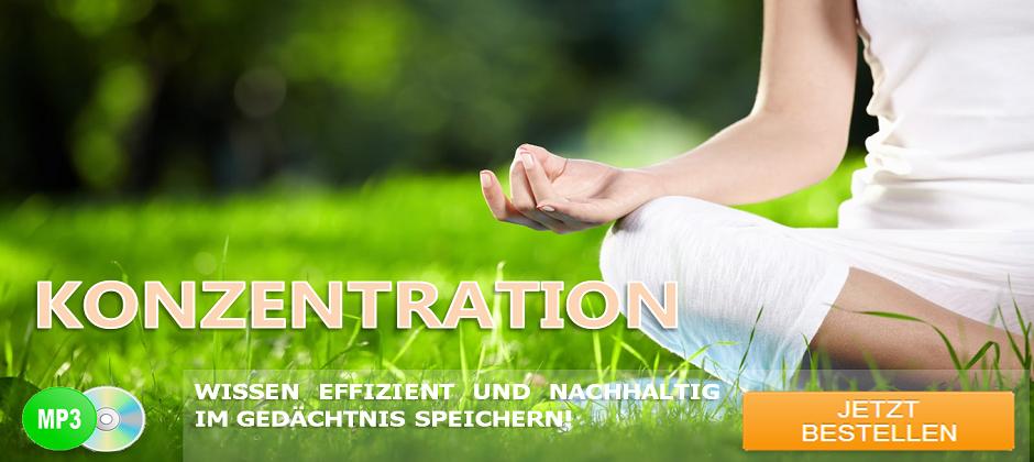 Konzentration - Hypnose CD